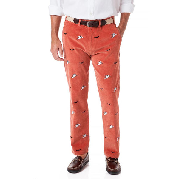 Ghost & Bat Beachcomber Corduroy Pant in Nantucket Red by Castaway Clothing