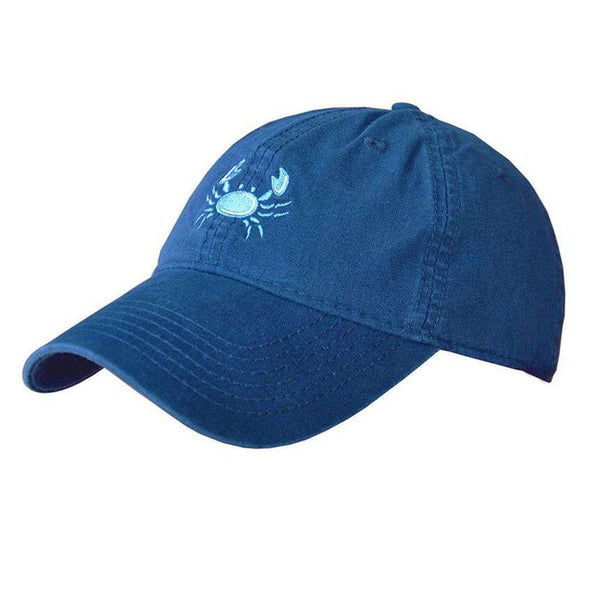 Crab Logo Hat in Navy by Coast