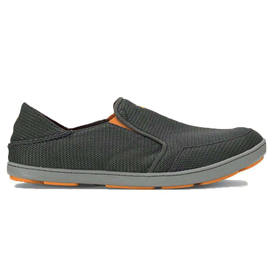 Men's Nohea Mesh Sneaker in Dark Shadow Grey by Olukai  - 1