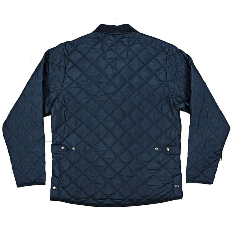 Marshall Quilted Jacket in Navy by Southern Marsh - FINAL SALE