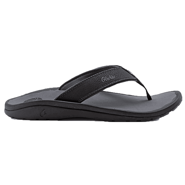 Men's 'Ohana Sandal in Black & Dark Shadow by Olukai  - 1