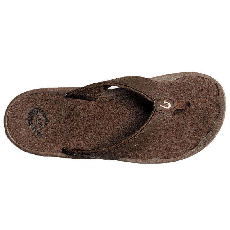 Women's 'Ohana Sandal in Dark Java Brown by Olukai - FINAL SALE