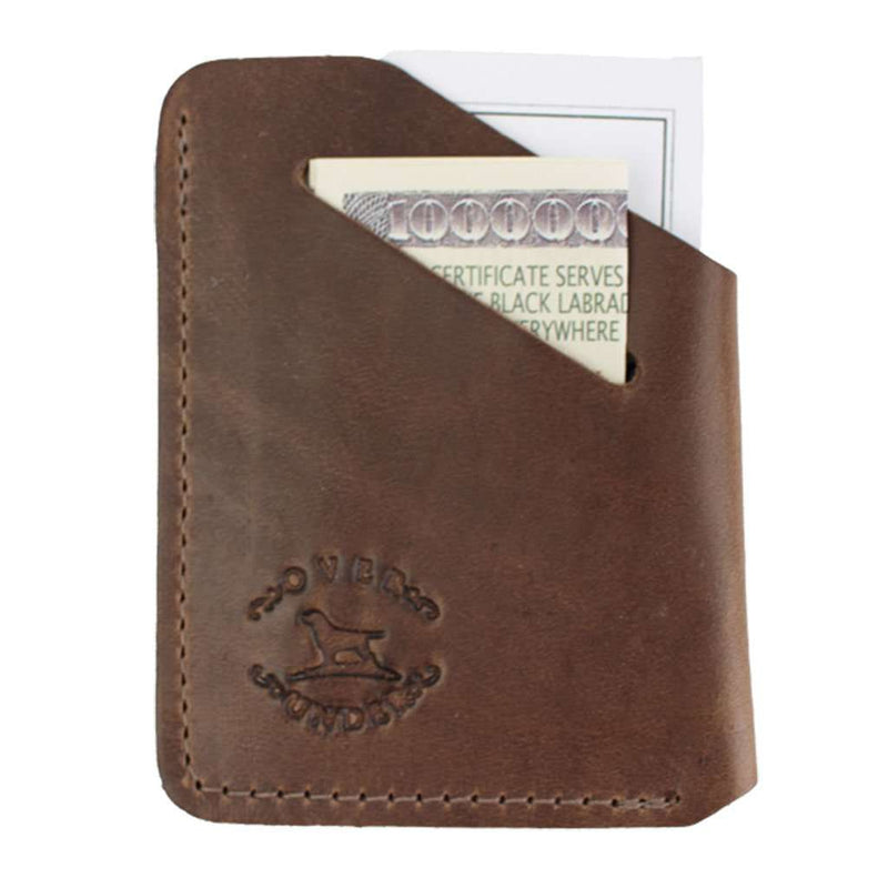 Over Under Clothing Horween Minimalist Wallet