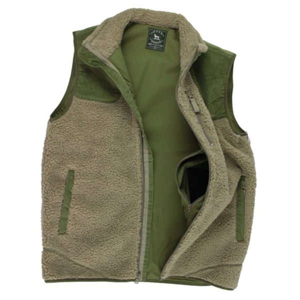 King's Canyon Vest in Moss by Over Under Clothing