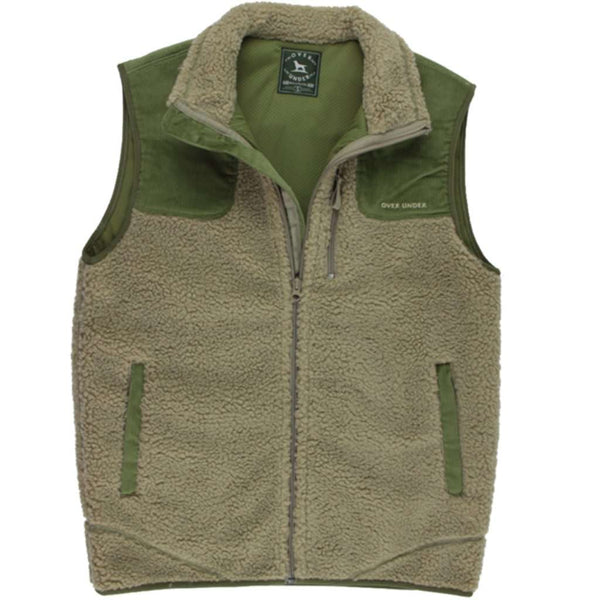 Over Under Clothing King's Canyon Vest in Moss