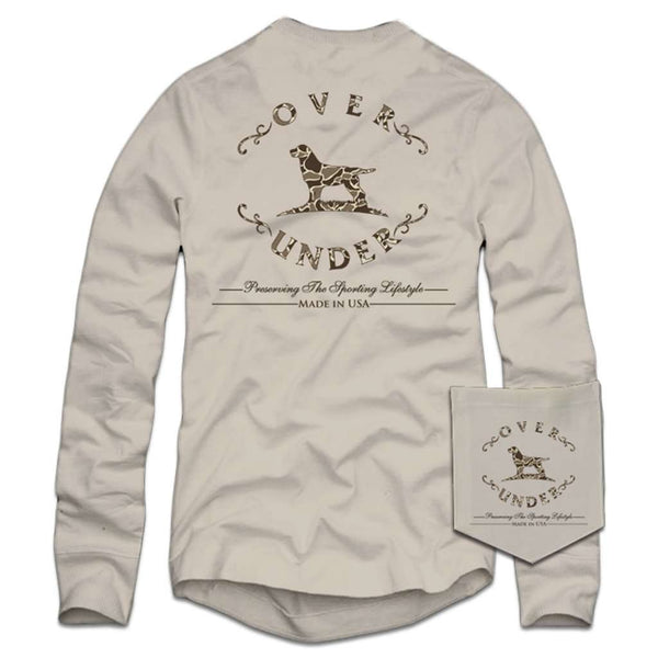 Over Under Clothing Long Sleeve Duck Camo T-Shirt in Oyster