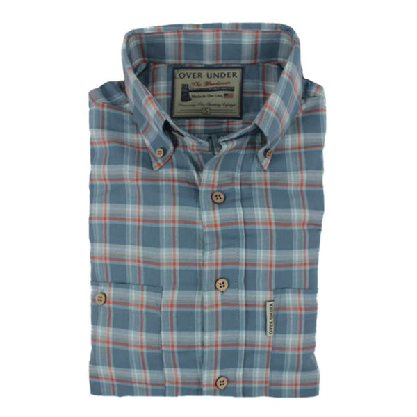 Over Under Clothing The Woodsman Flannel Shirt in Ozark