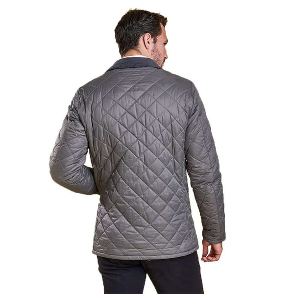 Pembroke Quilted Jacket in Grey by Barbour - FINAL SALE