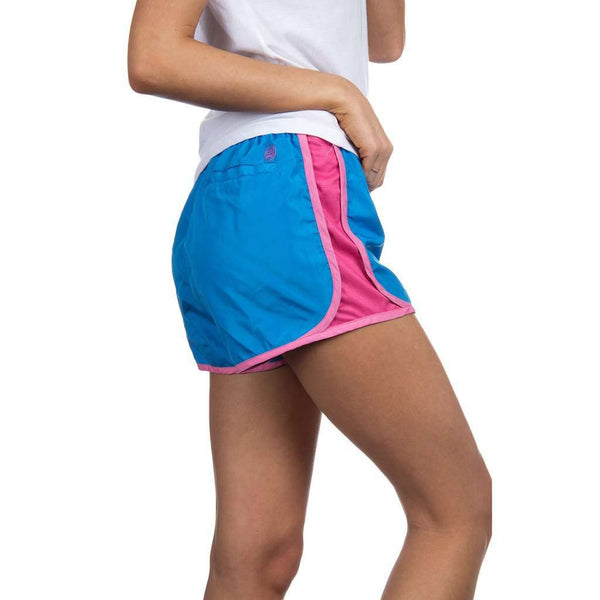 Preptec Athletic Shorts in Ocean Blue by Lauren James - FINAL SALE