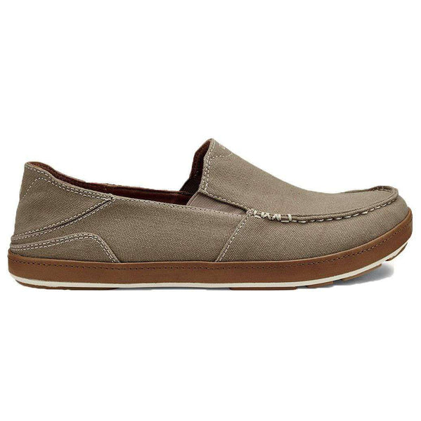 Men's Puhalu Canvas Loafer in Clay & Toffee Brown by Olukai  - 1