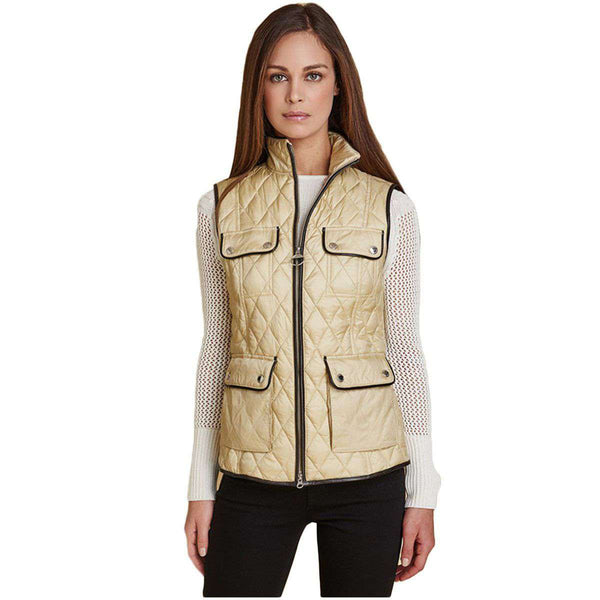 Range Rover Viscon Gilet in Dark Pearl by Barbour - FINAL SALE