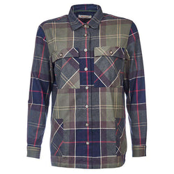 Rannoch Over Shirt in Classic Tartan by Barbour  - 1