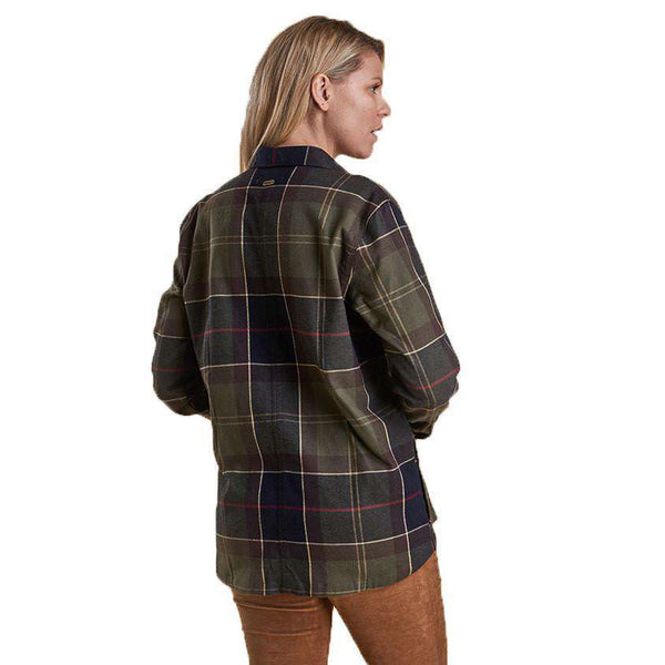 Rannoch Over Shirt in Classic Tartan by Barbour  - 3