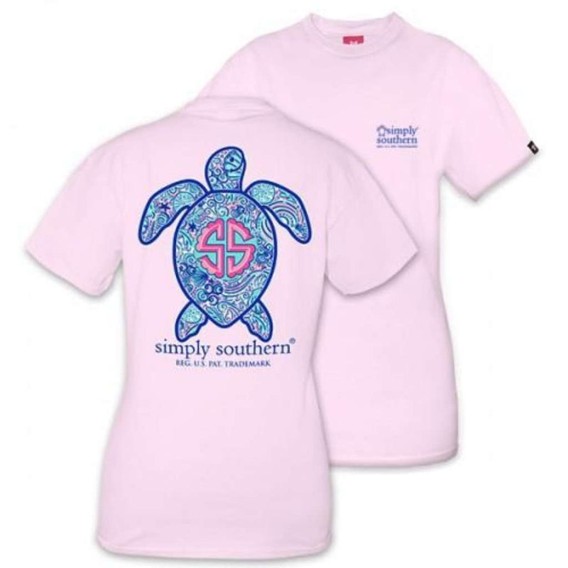 Simply Southern Save the Turtles Logo Shell Tee by Simply Southern