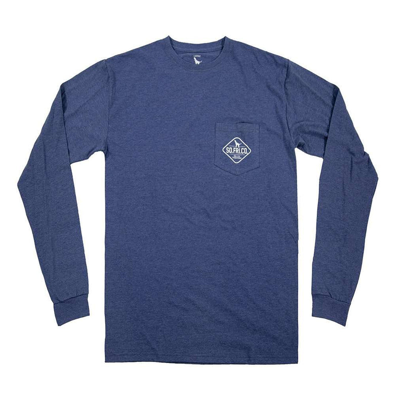 Southern Fried Cotton Landing Gear Long Sleeve Tee by Southern Fried Cotton