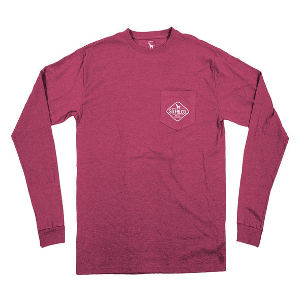 All You Need Long Sleeve Pocket Tee by Southern Fried Cotton