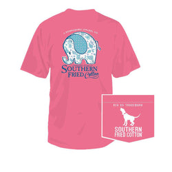 7eb3e737 Home › Preppy Kid's Clothing: Boys & Girls Clothes & Accessories › Ellie  Toddler Tee in Pink Jam by Southern Fried Cotton