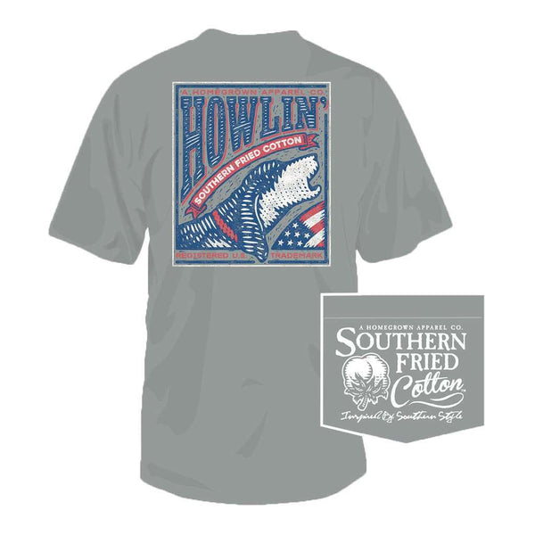 Howlin' For the USA Tee in Chicken Wire by Southern Fried Cotton
