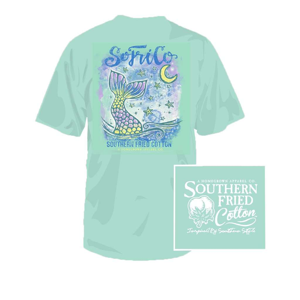 Night Tail Youth Tee in Julep by Southern Fried Cotton