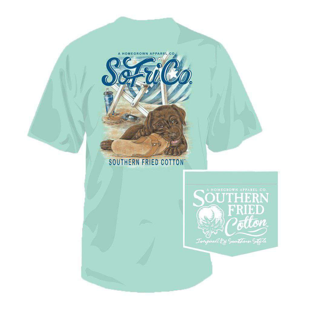Beach Toy Youth Tee in Julep by Southern Fried Cotton