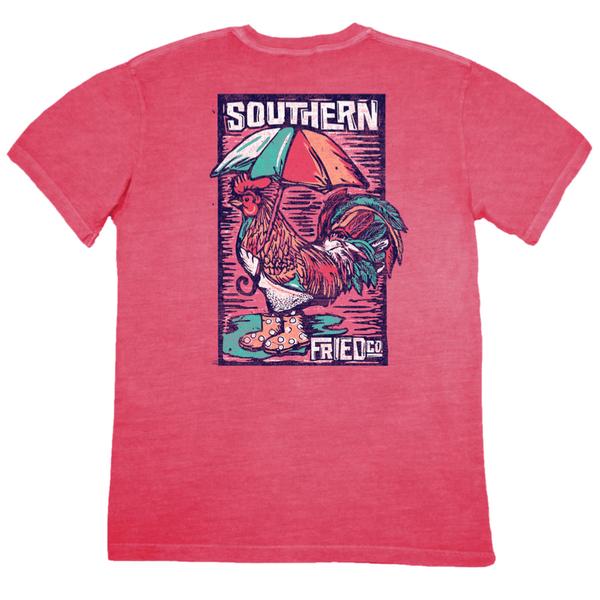 Bird Bath Tee by Southern Fried Cotton