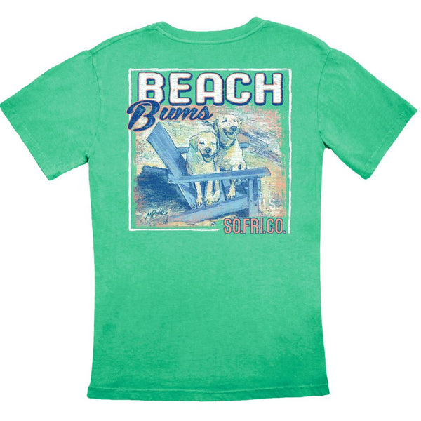 Beach Bums Tee by Southern Fried Cotton