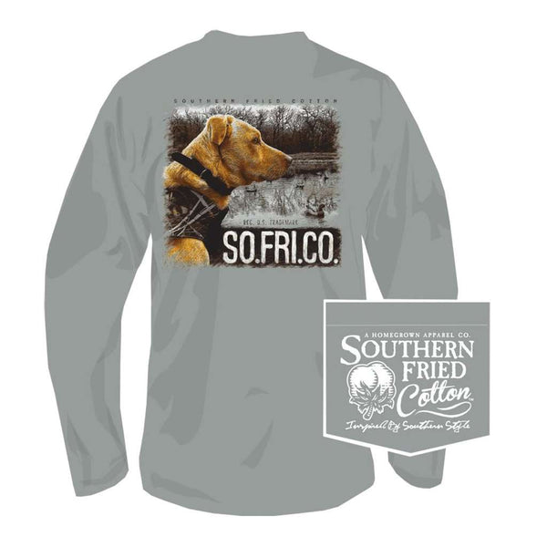 Southern Fried Cotton Jack Long Sleeve Tee in Chicken Wire