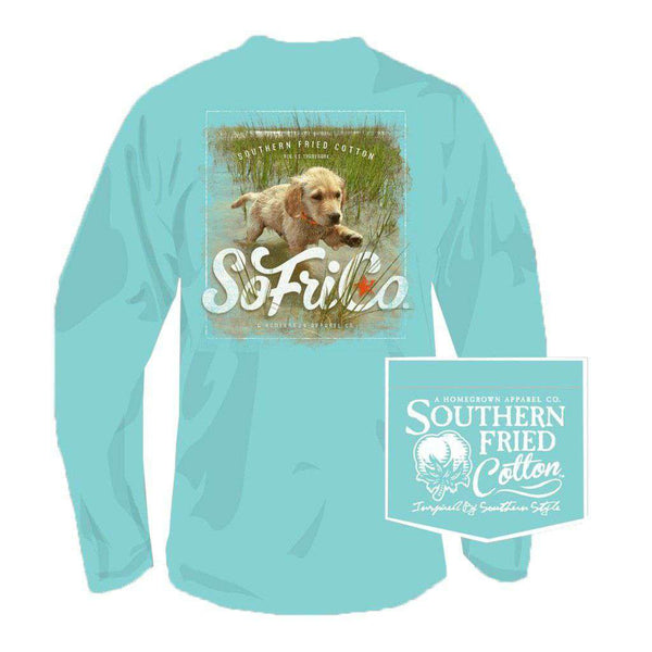 Southern Fried Cotton Boone Doc Long Sleeve Tee in Mason Jar