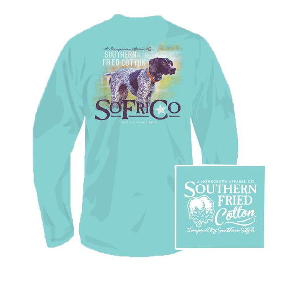 Southern Fried Cotton YOUTH Bella Long Sleeve Tee in Mason Jar