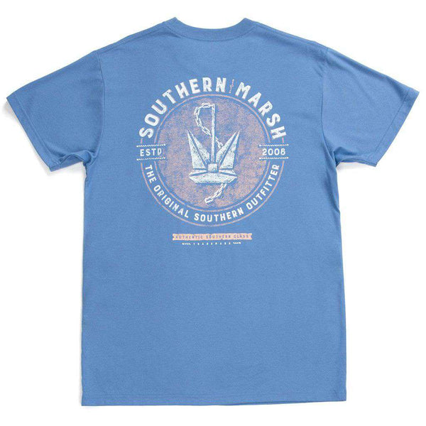 Branding Collection - Anchor Tee by Southern Marsh