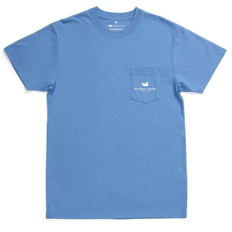 Branding Collection - Anchor Tee by Southern Marsh - FINAL SALE