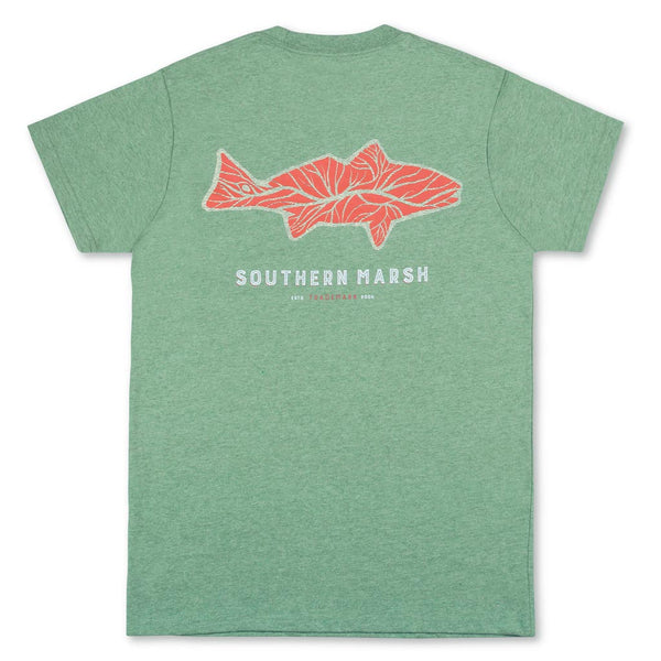The Delta Fish Tee Shirt by Southern Marsh