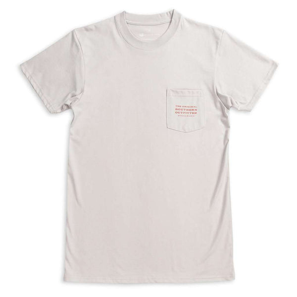 Southern Marsh Trademark Duck Tee ash gray