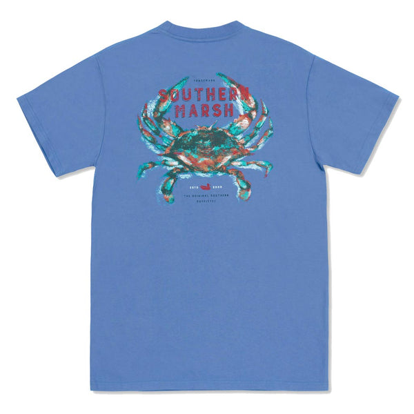 The Impressions Crab Tee by Southern Marsh