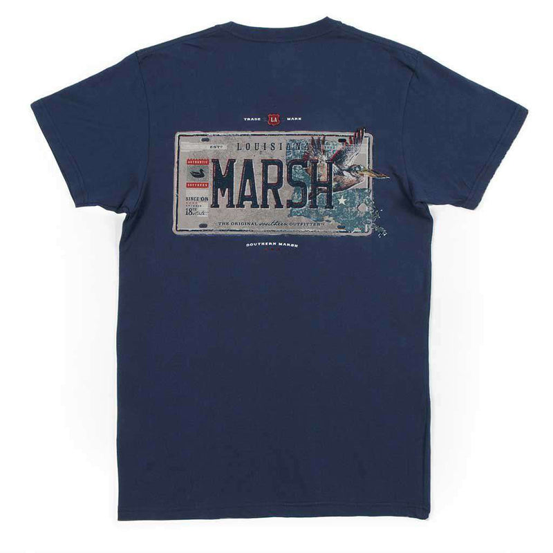 Southern Marsh Backroads Collection Tee - Louisiana Tee by Southern Marsh