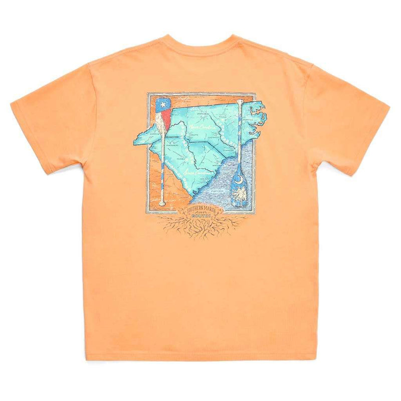 Southern Marsh River Route Collection Tee North Carolina & South Carolina by Southern Marsh