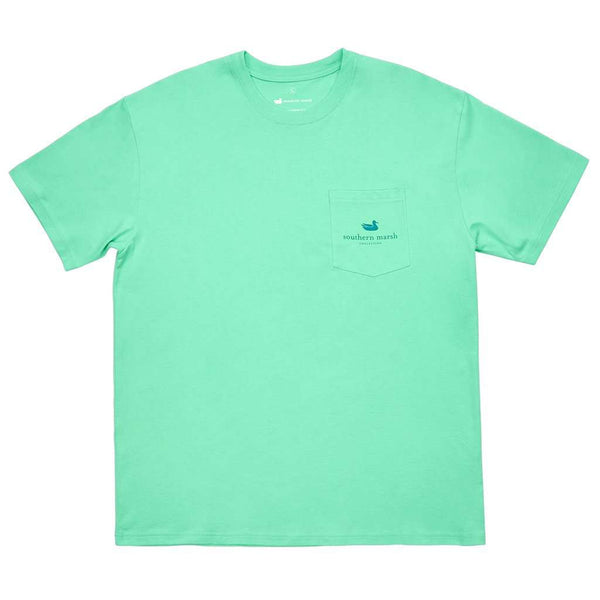 Southern Marsh River Route Collection Tee - Paddles