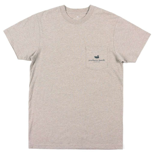 Vistas - Egret Tee by Southern Marsh - FINAL SALE