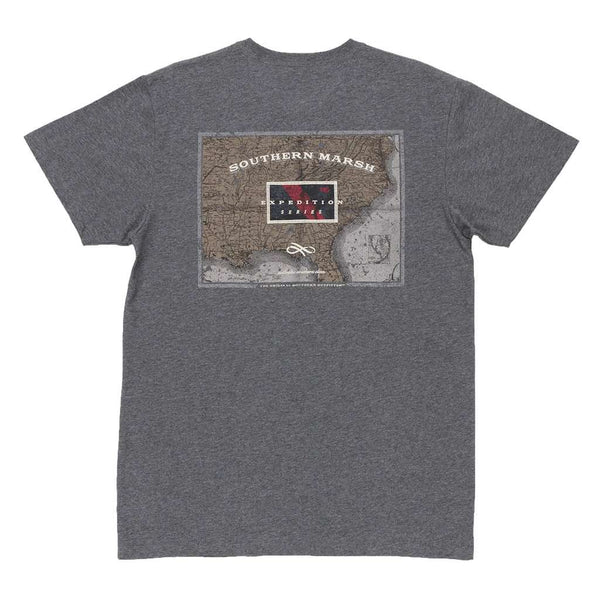 Southern Marsh Expedition Series Flag Tee Shirt by Southern Marsh