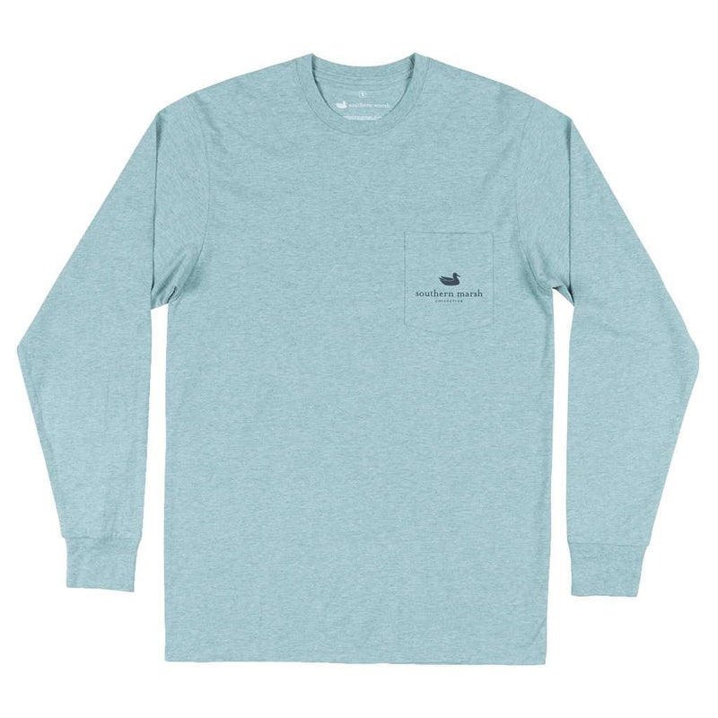 Southern Marsh Long Sleeve Branding Compass Tee by Southern Marsh