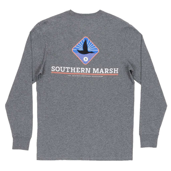 Southern Marsh Long Sleeve Branding Flying Duck Tee by Southern Marsh