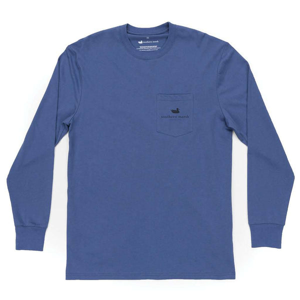 Southern Marsh Long Sleeve Branding Mountain Rise Tee by Southern Marsh