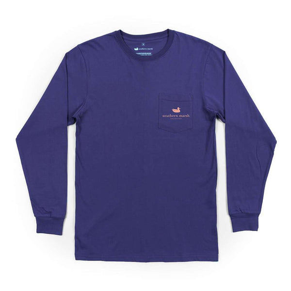 Southern Marsh Long Sleeve Branding Sunset Tee by Southern Marsh