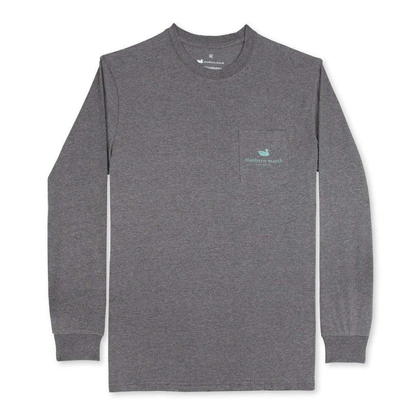 Southern Marsh Long Sleeve Circle Catch Tee by Southern Marsh