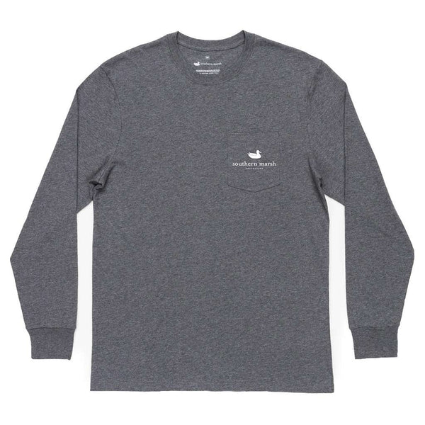 Southern Marsh Long Sleeve Delta Duck Tee by Southern Marsh