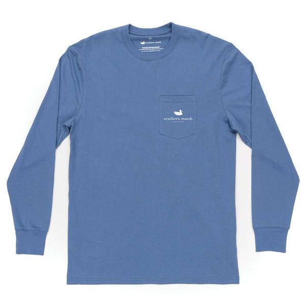 Southern Marsh Long Sleeve Delta Fish Tee by Southern Marsh