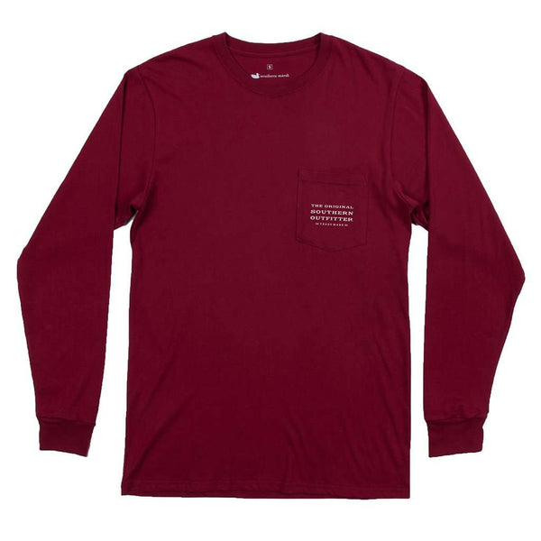Southern Marsh Long Sleeve Trademark Duck Tee by Southern Marsh