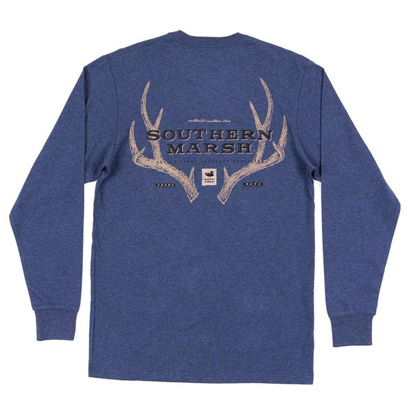 Southern Marsh Long Sleeve Origins Rack Tee by Southern Marsh