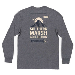 Southern Marsh Long Sleeve Summit Poster Tee by Southern Marsh