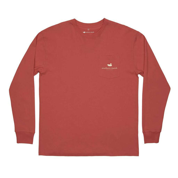 Southern Marsh Long Sleeve Vintage Tag Duck Tee by Southern Marsh